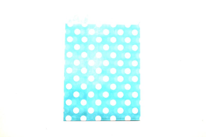 "Sky Blue Favor Bags - 5"" x 7"" - Peak Bloom  - 3"