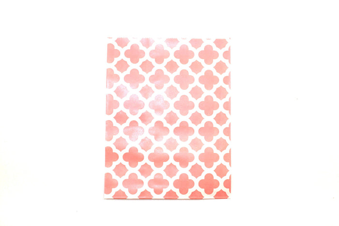"Blush Pink Favor Bags - 5"" x 7"" - Peak Bloom  - 4"