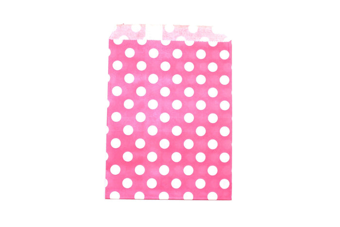 "Princess Pink Favor Bags - 5"" x 7"" - Peak Bloom"