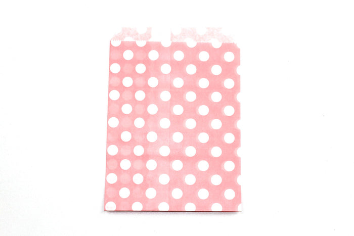 "Blush Pink Favor Bags - 5"" x 7"" - Peak Bloom"
