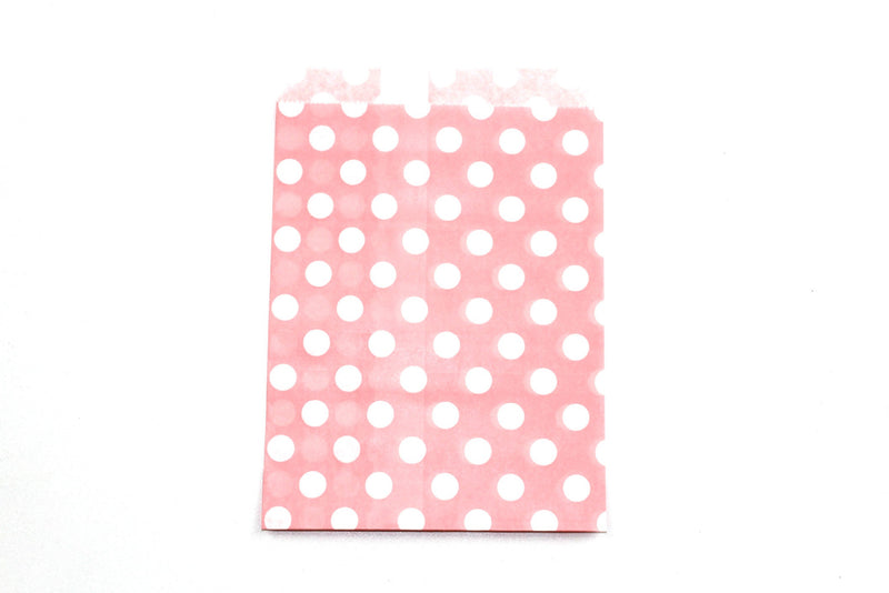 "Blush Pink Favor Bags - 5"" x 7"" - Peak Bloom  - 3"