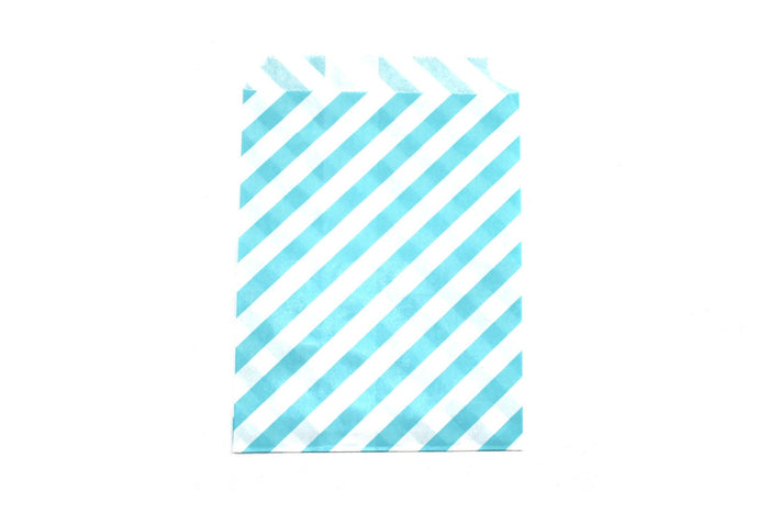 "Sky Blue Favor Bags - 5"" x 7"" - Peak Bloom  - 4"