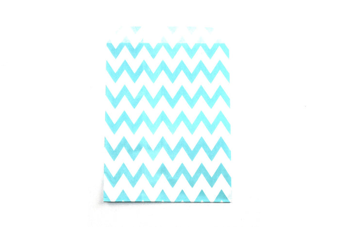 "Sky Blue Favor Bags - 5"" x 7"" - Peak Bloom  - 2"