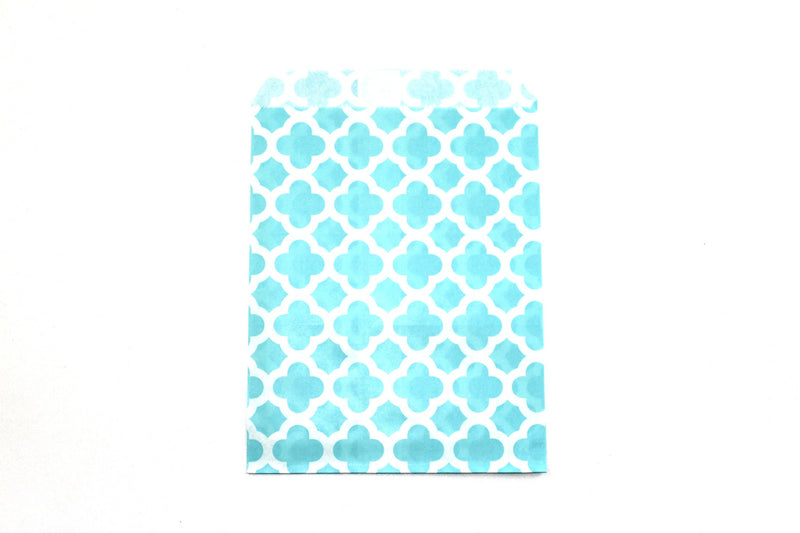 "Sky Blue Favor Bags - 5"" x 7"" - Peak Bloom  - 1"
