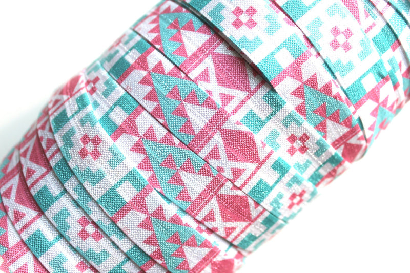 "5/8"" Falling for Aztec Collection - Peak Bloom"
