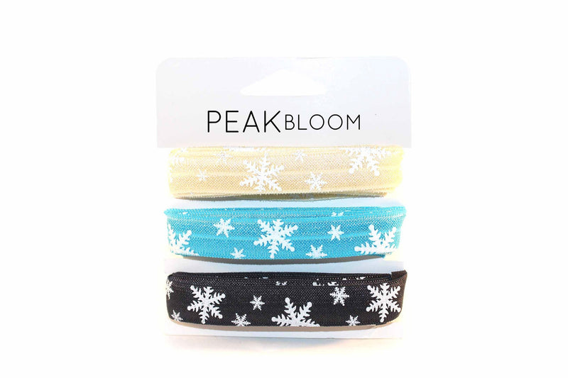 Blue Holiday Bundle FOE (6 Yards Total) - Peak Bloom