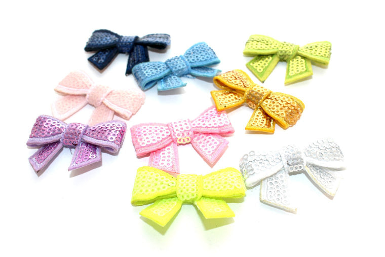 Mini Sequin Bows