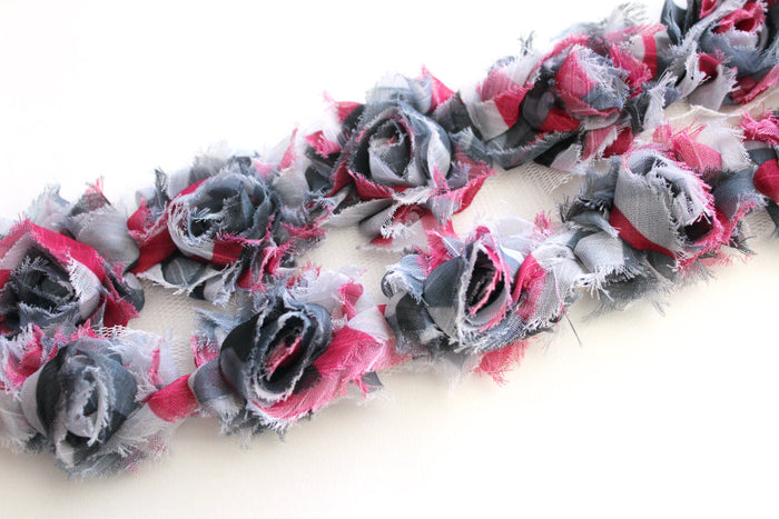 Petite Shabby Flower Trims (Patterns) - Peak Bloom