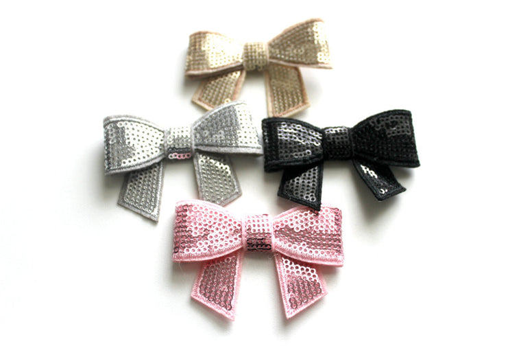 Small Sequin Bows