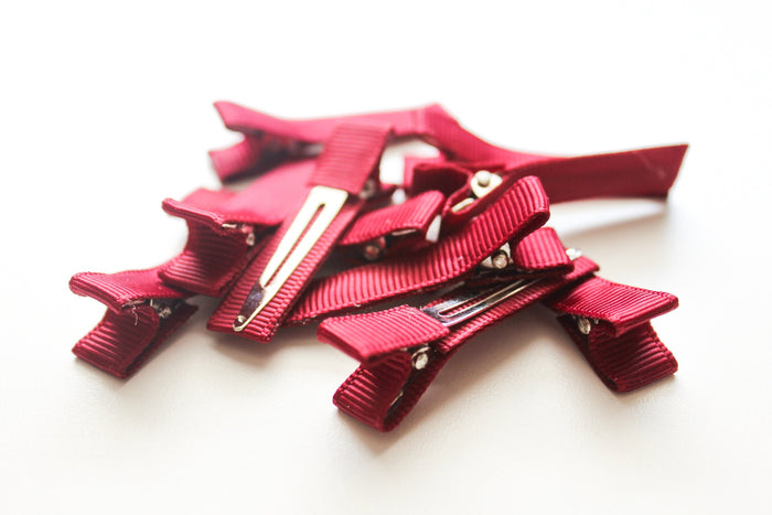 Partially Lined Clips (Solid Colors) - Peak Bloom  - 10