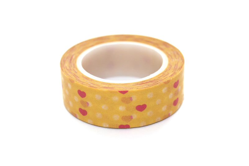 Hearts Washi Tape - Peak Bloom