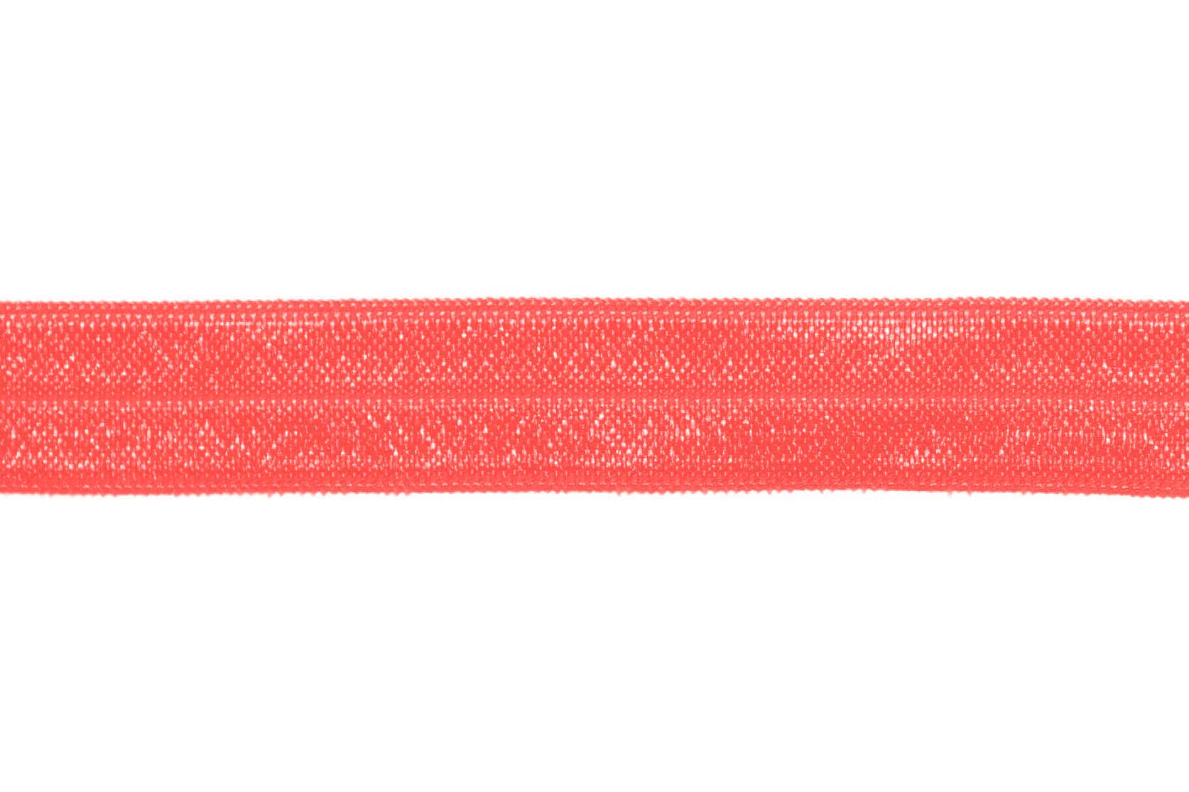 "5/8"" Coral Reef Fold Over Elastic - Peak Bloom"