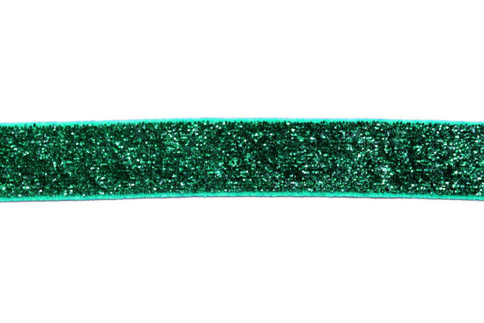 "5/8"" Cool Toned Glitter Elastics - Peak Bloom"