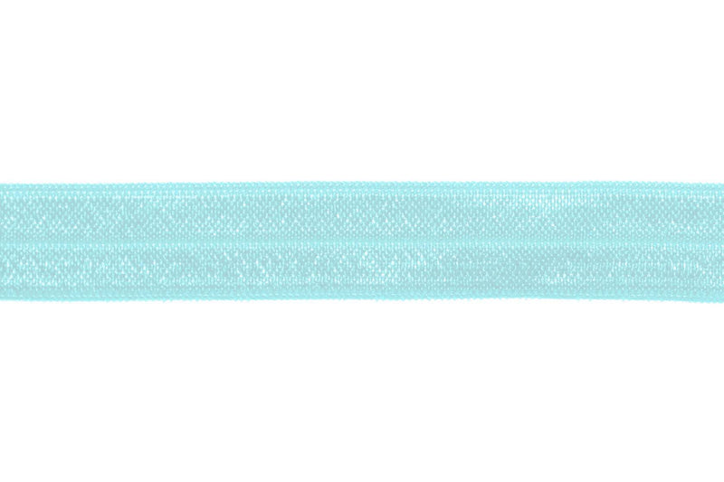 "5/8"" Mineral Ice Fold Over Elastic - Peak Bloom"