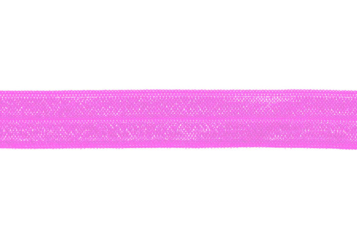 "5/8"" Rose Bloom Fold Over Elastic - Peak Bloom"