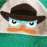 5x7 AGENT P DUCK HEAD FOR HOODED TOWEL