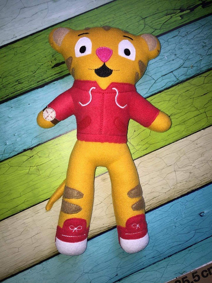 DANIEL TIGER DOLL PATTERN