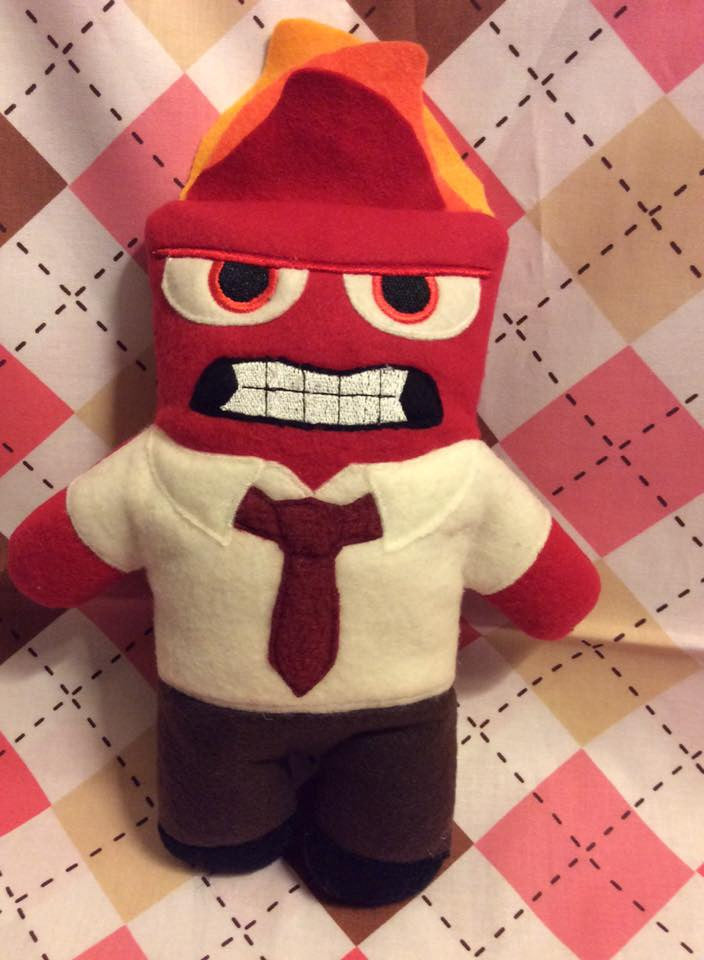 ANGER FEELING DOLL PATTERN