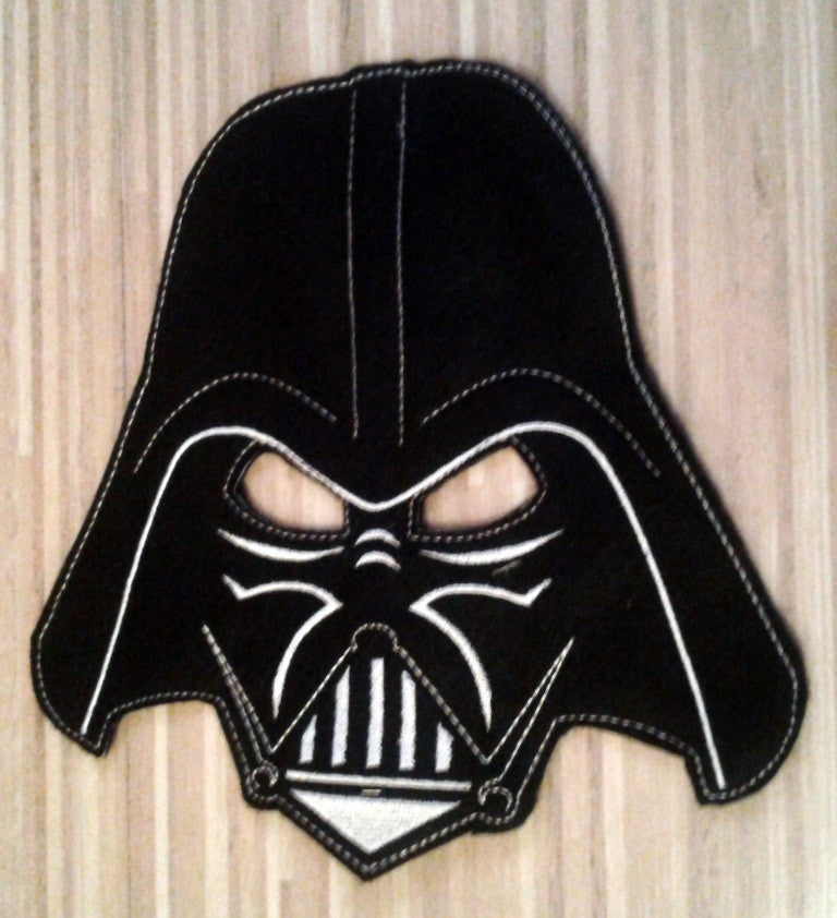 8X10 DARTH VADER MASK PATTERN