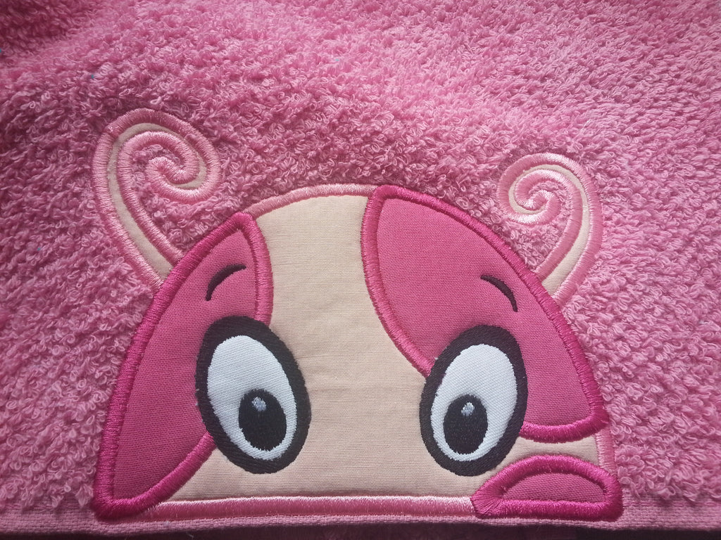 5x7 UNIQUA HEAD FOR HOODED TOWEL