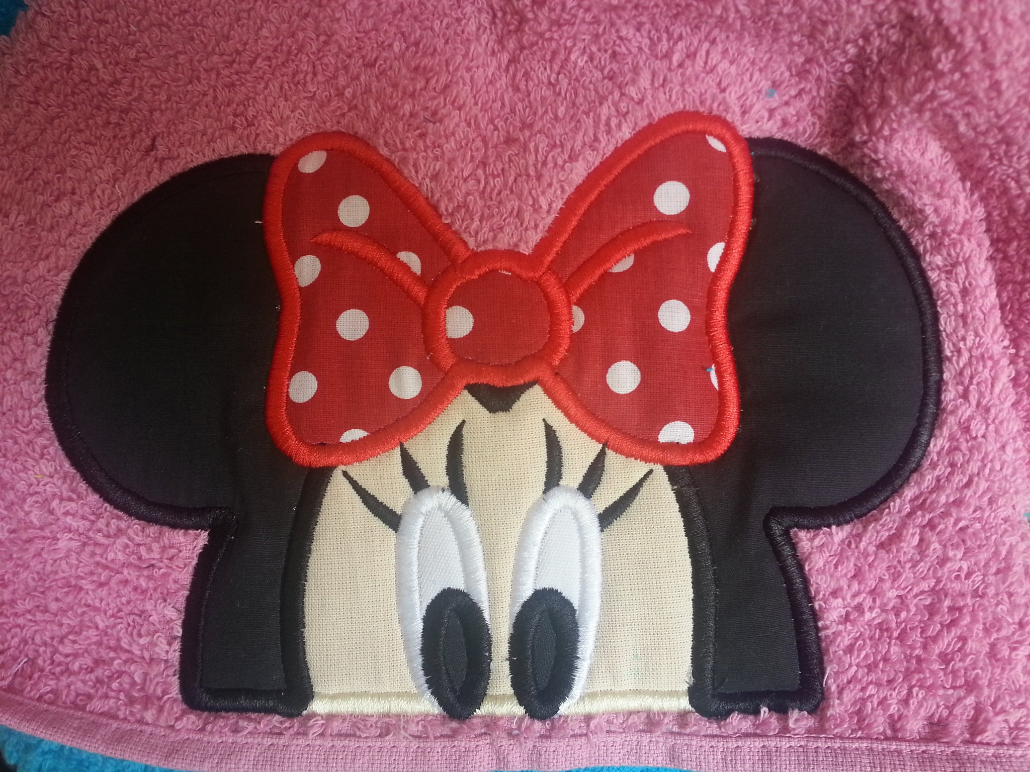 5X7 AND 6X10 MRS MOUSE HEAD FOR HOODED TOWEL