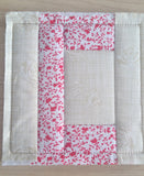 ITH LETTER C QUILT BLOCK