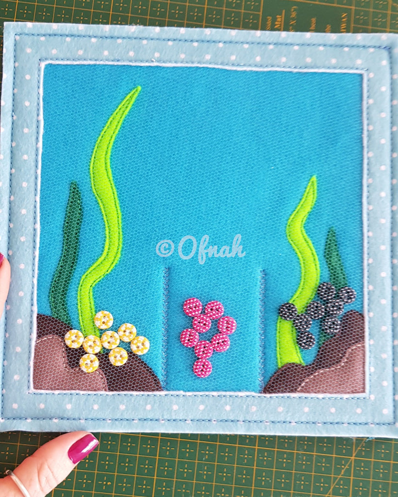 6X6 & 8X8 FISHING BY COLOR ITH QUIET BOOK PAGE