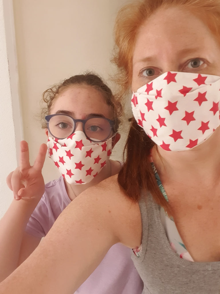 PROTECTION MASK SEWING PATTERN
