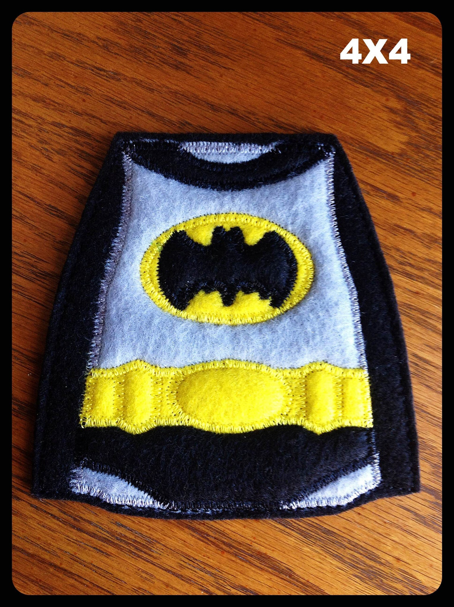 BATMAN MUG RUG PATTERN