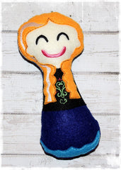 ANNA FROZEN RATTLE PATTERN