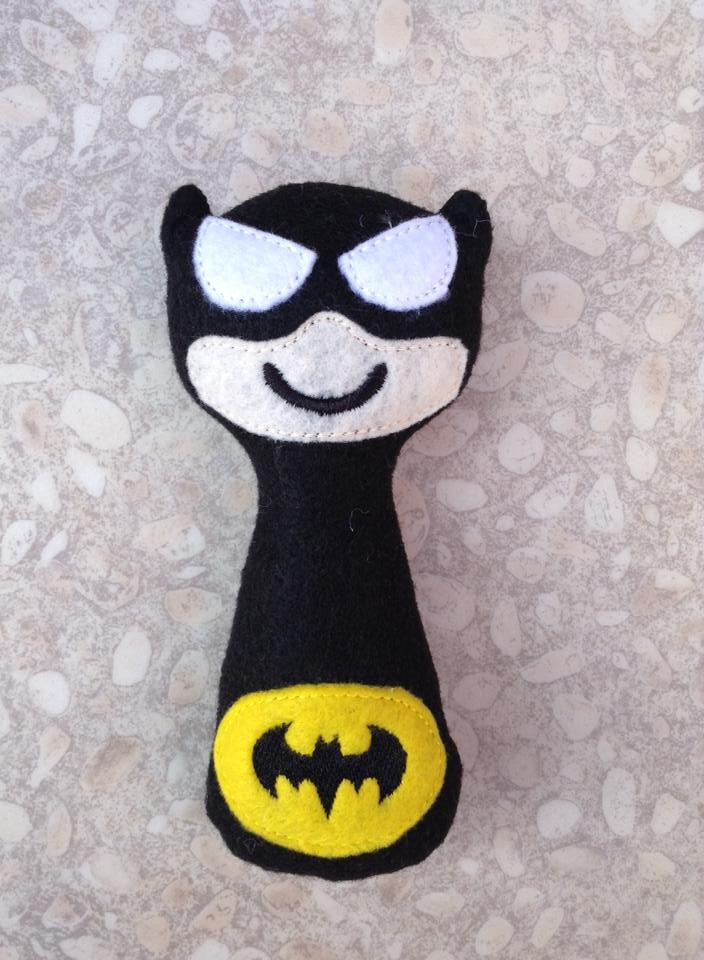 BATMAN RATTLE PATTERN
