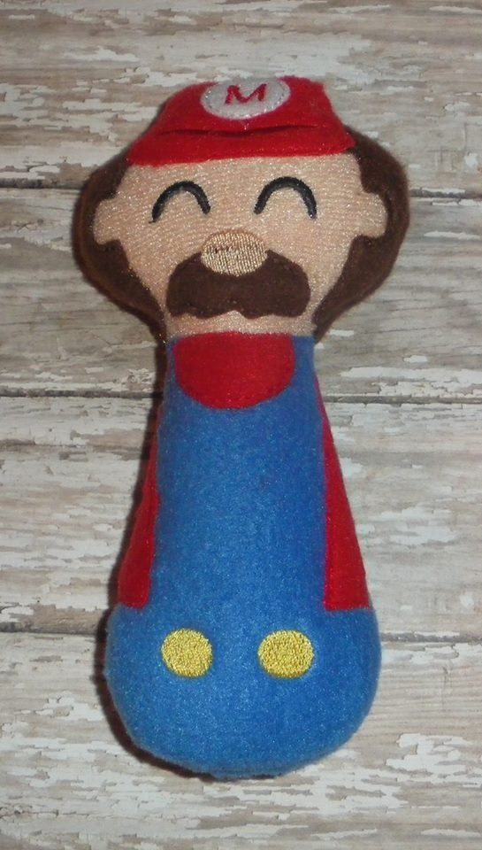 MARIO BROS RATTLE PATTERN