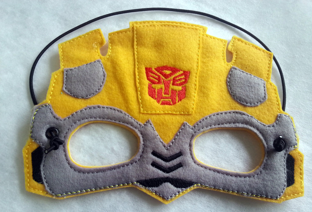 5x7 YELLOW TRANSFORMER MASK PATTERN