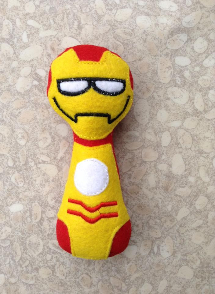 IRONMAN RATTLE PATTERN