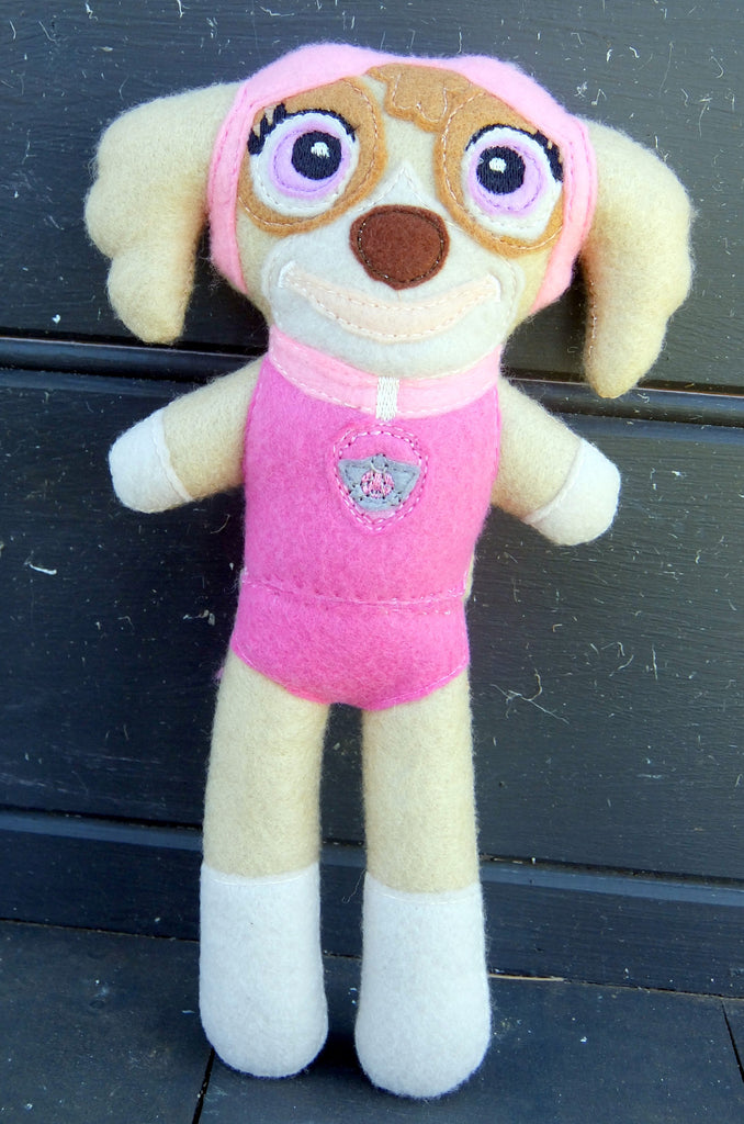SKYE PINK GIRLY PAW PATROL DOLL PATTERN