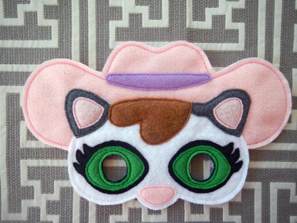 6X10 SHERIFF CALLIE MASK PATTERN