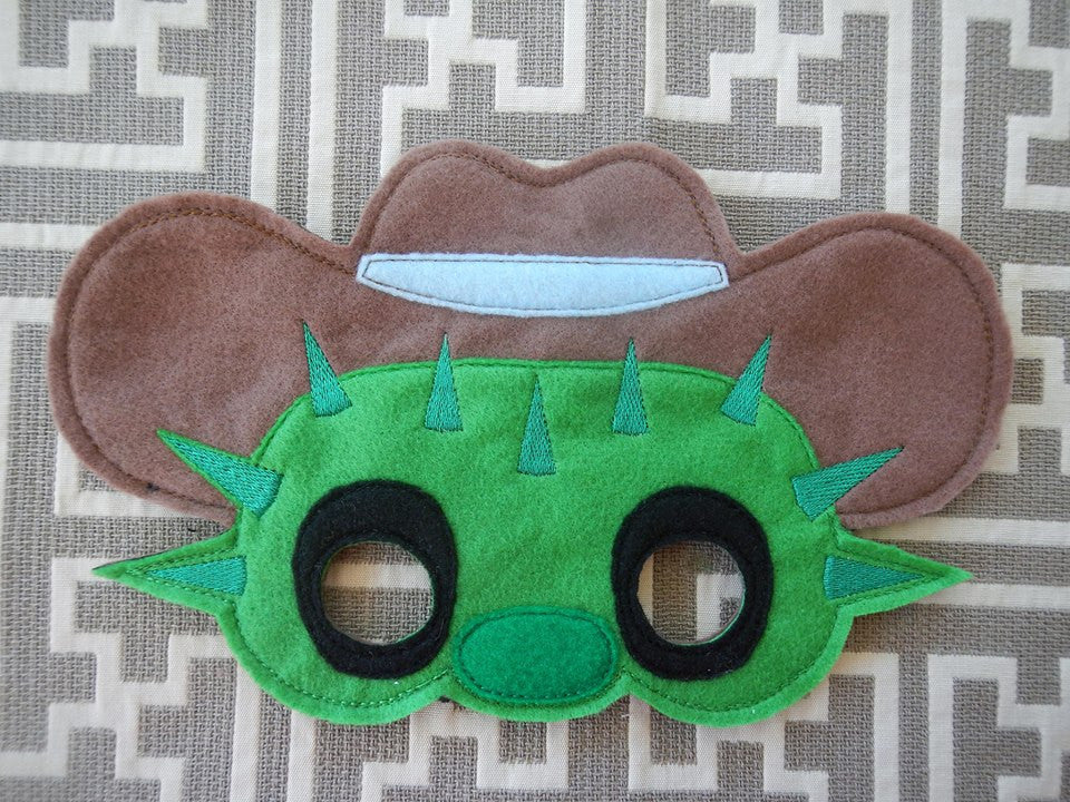 6X10 TOBY CACTUS MASK PATTERN
