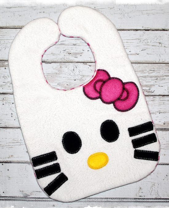 H KITTY BIB