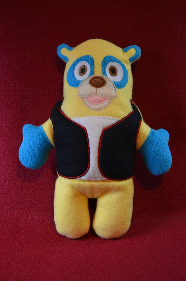 AGENT OSO DOLL PATTERN
