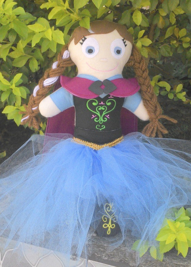 ANNA FROZEN DOLL PATTERN
