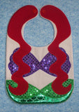 ARIEL LIL MERMAID BIB