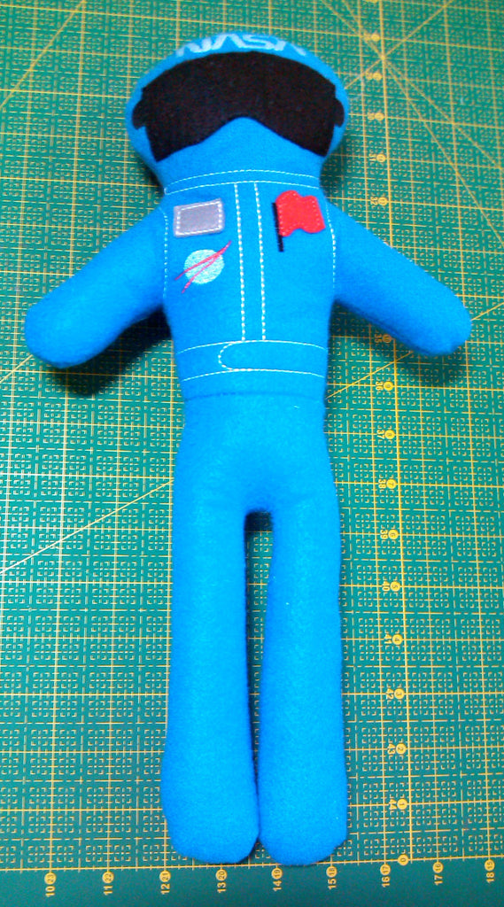 ASTRONAUT DOLL PATTERN