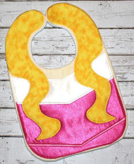 AURORA SLEEPING BEAUTY BIB