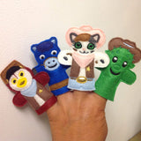 SHERIFF CALLIE FINGER PUPPET PATTERNS (SET)