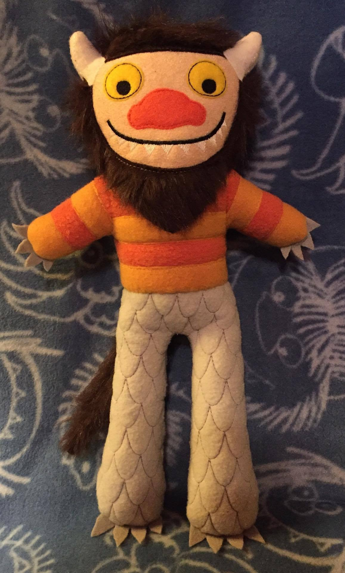 CAROL MONSTER WHERE THE WILD THINGS ARE DOLL PATTERN