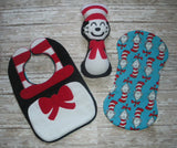 CAT IN THE HAT BIB