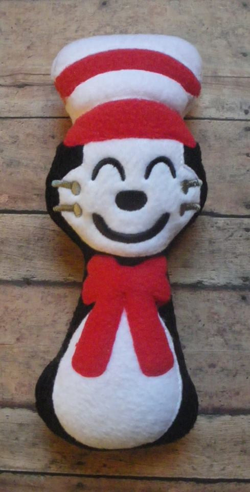 CAT IN THE HAT RATTLE PATTERN