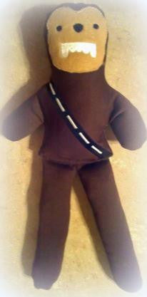 CHEWBACCA DOLL PATTERN
