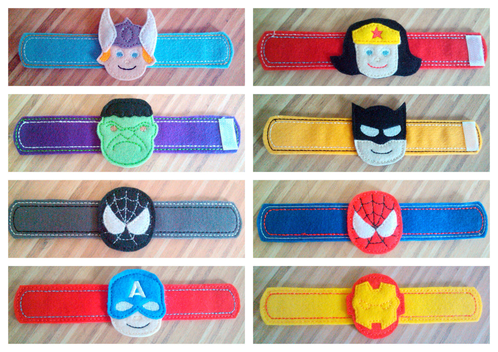 4X4 SUPER HERO CLIPPIES (SET)