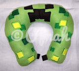 6X10 & 8X12 CREEPY GREEN NECK PILLOW
